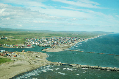 Nome, Alaska may not be an alien hub but it sure looks interesting nonetheless.