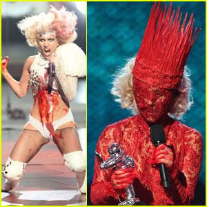 Lady Gaga is gaga. Courtesy of Just Jared.